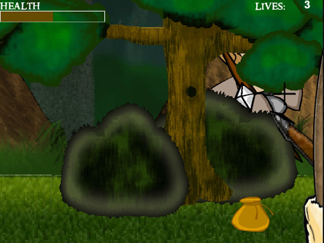 Defeat the monsters in Forest Fight 2