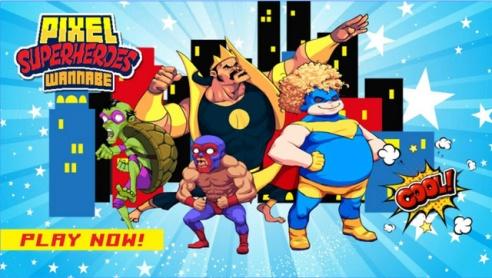 Pixel-Super-Heroes